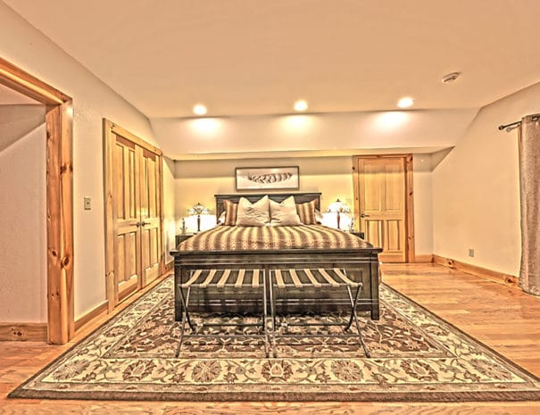 Lower Level King Guestroom